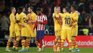 ÖZET | Atletico Madrid-Barcelona maç sonucu: 0-1
