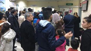İstanbul'da çocuk acil servisleri doldu taştı