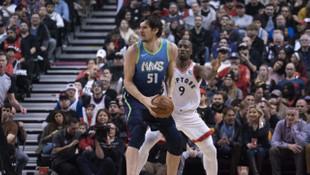Toronto Raptors-Dallas Mavericks: 110-107