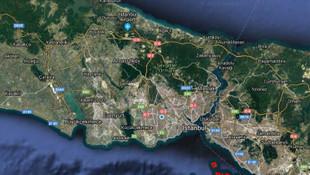 İstanbul'da 12 arsa satışa çıkıyor !