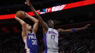 Detroit Pistons-Philadelphia 76ers maç sonucu: 109-125 (Furkan Korkmaz kariyer rekoru kırdı)