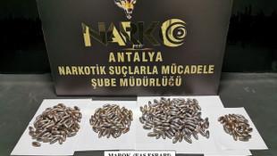 Antalya Havalimanı'nda yakalandılar; tomografi görüntüleri şoke etti