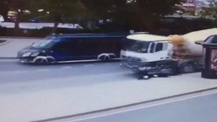 İstanbul'da 2 kardeşin öldüğü kaza kamerada