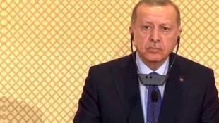 Cumhurbaşkanı Erdoğan: ''Burnuma sigara kokuları geliyor