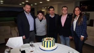 Emre Belözoğlu, WinWin projesi talihlisiyle buluştu
