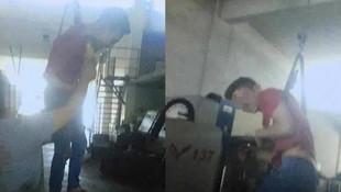 15 yaşındaki çırağa palangalı işkence