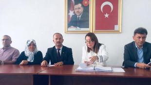 AK Partili başkandan öğretmen ve öğrenciye şiddet