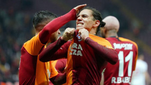 Galatasaraylı futbolcuların maçı sonu açıklamaları