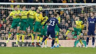 ÖZET | Norwich City 2 - 2 Tottenham maç sonucu
