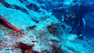 Antalya'da gemi batığında heyecan yaratan keşif