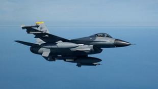 ABD'ye ait F-16 düştü