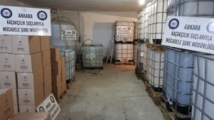 Yılbaşı öncesi büyük operasyon ! 24 ton etil alkol ele geçirildi