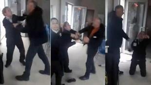 Kız yurdunda skandal görüntüler! Güvenlik müdürü, 2 kadın görevliye saldırdı