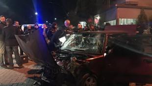 Polisin ''dur'' ihtarıncan kaçan araçtan cephanelik çıktı!