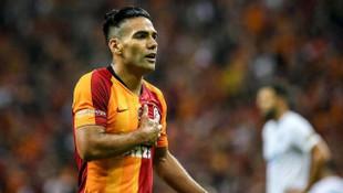 Galatasaray'da Radamel Falcao mutluluğu