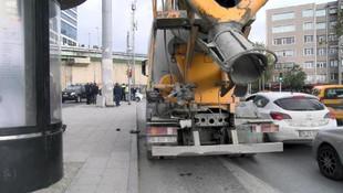 İstanbul'da beton mikseri 2 kardeşe çarptı: 1 ölü, 1 yaralı