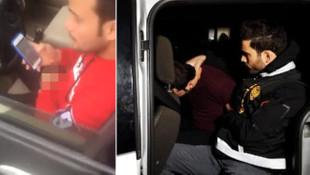 İstanbul'da iğrenç taciz ! Sapık sürücü yakalandı