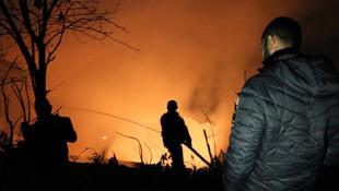 Kahreden yangın ! Bir aile evsiz kaldı