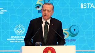 Erdoğan'dan ''İslami terör'' tepkisi