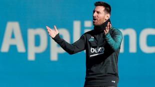Lionel Messi, Barcelona - Inter maçının kadrosuna alınmadı