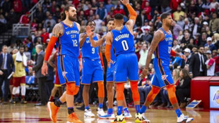 Houston Rockets 112 - 117 Oklahoma City Thunder