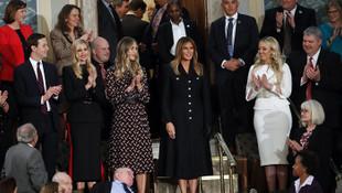 Melenia Trump'ın kıyafeti dalga konusu oldu