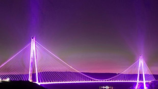 Yavuz Sultan Selim Köprüsü mora bürünecek