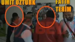Türk futbolunu karıştıran görüntü: Fatih Terim ile hakem Ümit Öztürk...