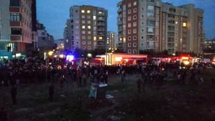 İstanbul'daki askeri helikopter kazasından ilk görüntüler