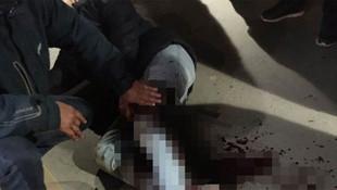 Metrobüste akılalmaz saldırı ! Bıçaklayıp kaçtı