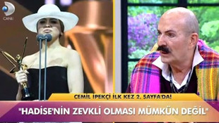 Modacı Cemil İpekçi canlı yayında Hadise'ye ateş püskürdü