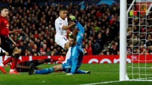 PSG, Manchester United'ı deplasmanda yıktı!