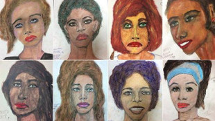 Seri katilin kurbanlarının çizimleri yayımlandı