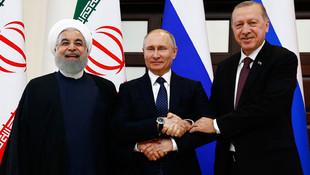 Ruhani, Erdoğan ve Putin'den çarpıcı mesajlar