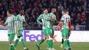 UEFA Avrupa Ligi son 32 turu ilk maç sonuçları (Rennes 3 - 3 Real Betis)
