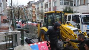 İstanbul'da toprak kayması: 1 yaralı
