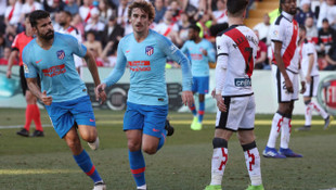 Rayo Vallecano 0 - 1 Atletico Madrid (İspanya La Liga)