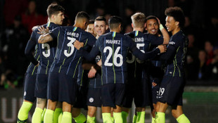 Newport County 0 - 4 Manchester City (FA Cup)