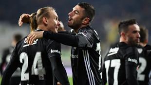 Beşiktaş, deplasman fobisini yendi