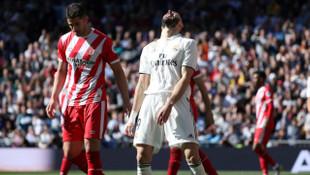 Real Madrid 1 - 2 Girona (La Liga)