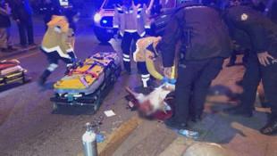 Ankara'da korkunç olay ! İp koptu, ölümden döndü