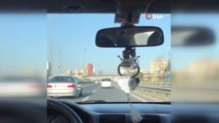 İstanbul'da trafik magandaları ortalığı birbirine kattı !