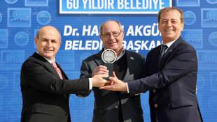 Büyükçekmece Belediyesi'ne 7. kez Avrupa 12 Yıldız Şehir Ödülü
