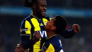 Victor Moses Fenerbahçe'de ilk golünü attı
