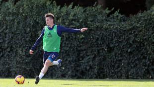 Fenerbahçe'de Miha Zajc ilk antrenmanına çıktı
