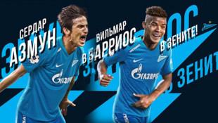Fenerbahçe'nin rakibi Zenit, Sardar Azmoun ve Wilmar Barrios'u transfer etti