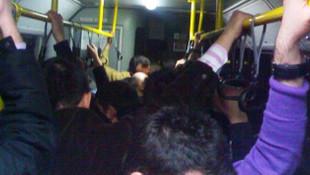 Halk otobüsünde üniversiteli kıza taciz