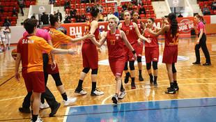 Galatasaray Kadın Basketbol Takımı, Fransa deplasmanında