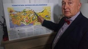 Çanakkale depremini 3 saat önce bilen Prof. Ercan riskli illeri açıkladı