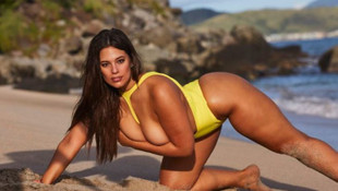 Dev makaslı Ashley Graham